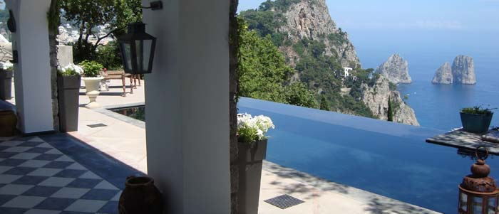 Villa Between Capri And Anacapri For Sale