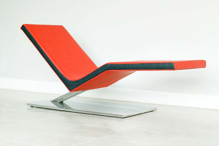 Zero Chaise Lounge by Nolen Niu