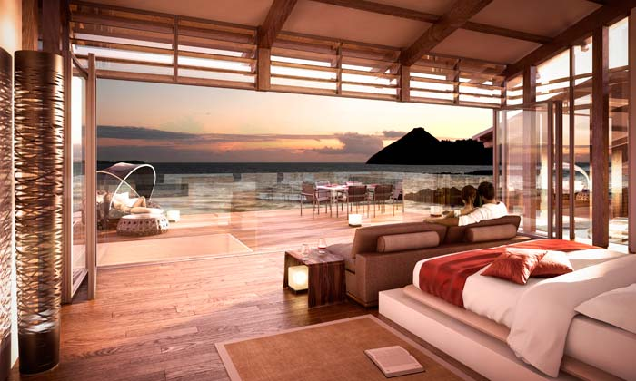 Resort villas, St Lucia (4)