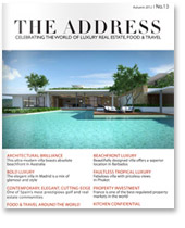 The Address Magazine cover no.13